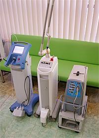 レーザー治療機器は高度先進医療機器に属します